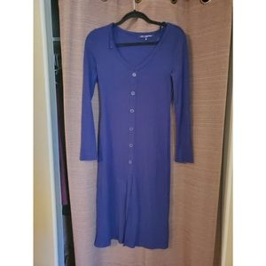 One Clothing Long Sleeve Button Up Dress